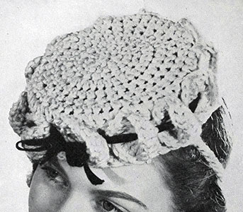 Pill Box Hat Pattern #1172
