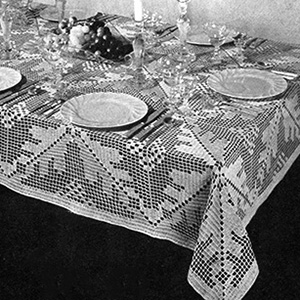 First Lady Tablecloth Pattern #7590