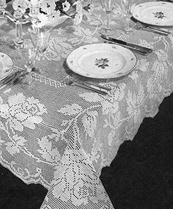 Briar Rose Tablecloth Pattern #7605