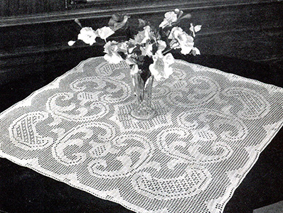 Arabesque Doily #7610 Pattern