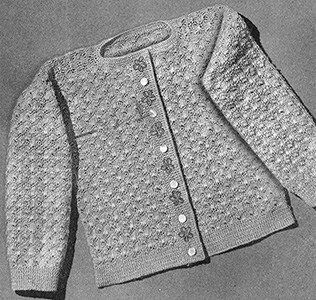 Cardigan Pattern #5212