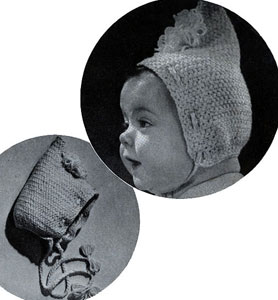 Baby Bonnet Pattern #5241