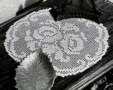Rosy Future Doily Pattern