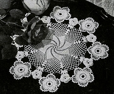 Irish Crochet Doily Pattern