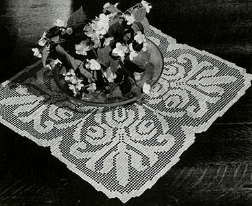 Manor House Doily Pattern