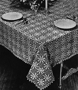 Pinwheel Tablecloth Pattern #7064