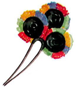 Decorative Hair Pin Pattern