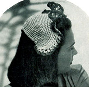 Hat Pattern No. 1844