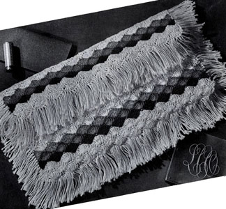 Envelope with Fringe Bag Pattern #2687