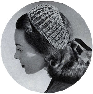 Bandeau Hat Pattern #2696