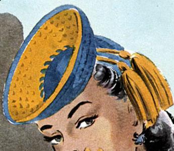 Hat Pattern #2262