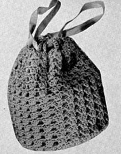 Free Vintage Crochet Bag Pattern : Bag Pattern #2334 Crochet Patterns