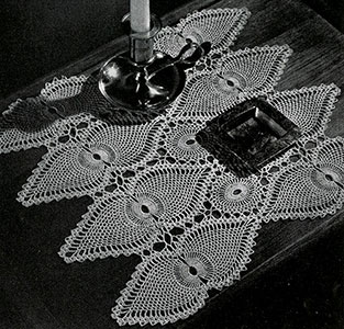 Night Table Doily Pattern #7767-A