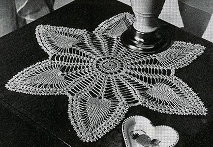Six Pointed Doily Pattern #7769