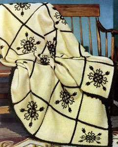 Fireside Formality Afghan Pattern
