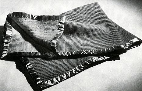 Baby Blanket Pattern #5338