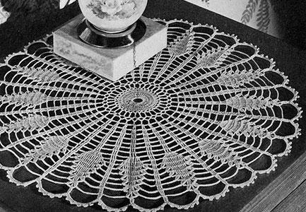 Sundial Doily Pattern #D-125