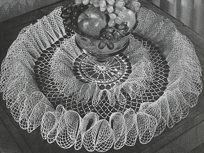 Party Frills Doily Pattern #D-132