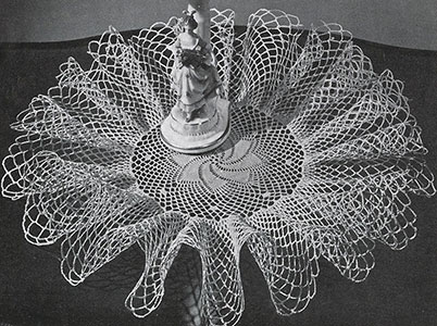 Flying Comet Doily Pattern #D-136