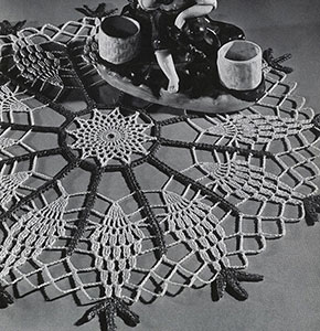 Pineapple Wheel Doily Pattern #PD-423