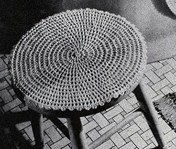 Stool Cover Pattern #245