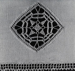 Reticella Motif for Towel Pattern #247