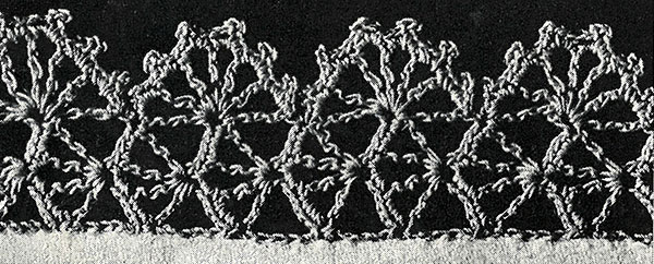 Monkeyface Lace Edging Pattern #323