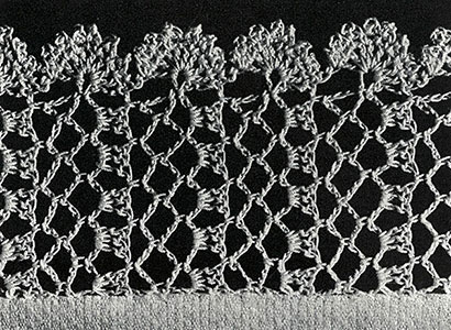 Lattice Lace Edging Pattern #324