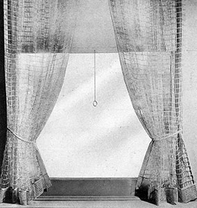 Cord Net Curtains Pattern
