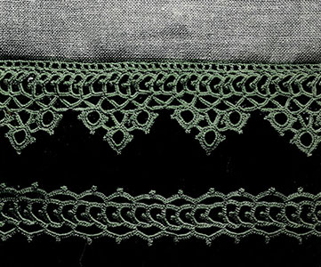 Curtain Lace and Insertions Pattern #303
