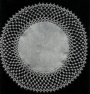 Tatted Doily Pattern #820