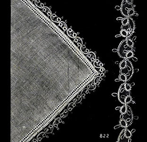 Handkerchief Edging Patterns #822