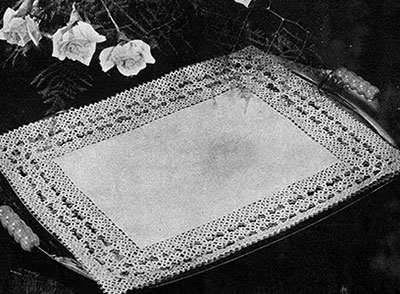 Tray Cloth Pattern #853