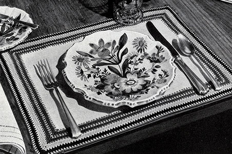 Italian Table Mats Pattern #71