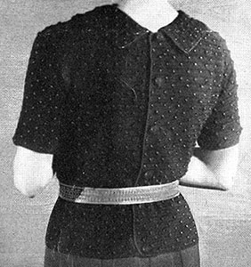 Wind Gauge Blouse Pattern #116