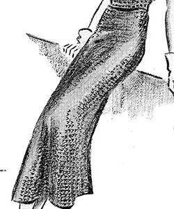 Mesh Skirt Pattern #151