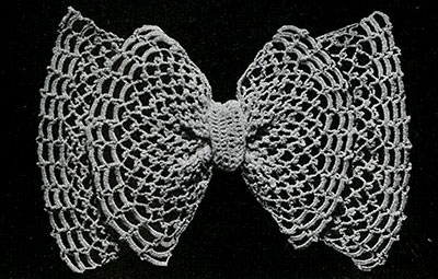 Irish Mesh Bow Pattern #2001