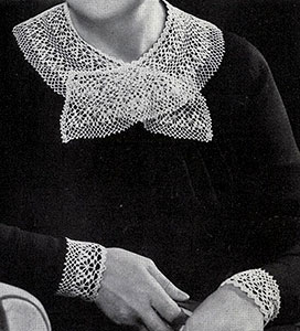 Dentelle Collar and Cuffs Pattern #266