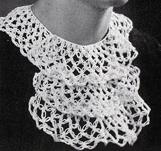 Knot Stitch Collar Pattern #51