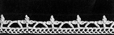 The Elizabeth Barrett Edging Pattern