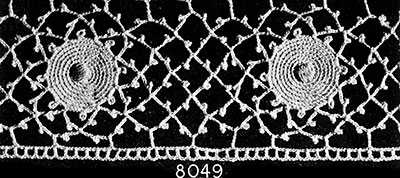 Guest of Honor Edging Pattern #8049