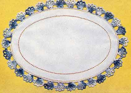 Pomander Walk Edging Pattern #8076
