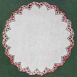 Piecrust Edging Pattern #8077