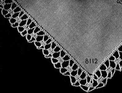 Coquetry Edging Pattern #8112