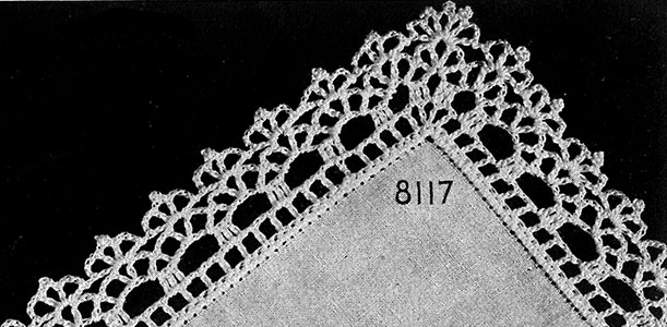 Valse Caprice Edging Pattern #8117