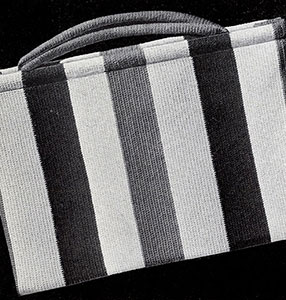 Roman Stripe Bag Pattern #2056