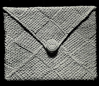 Afghan Stitch Bag Pattern #249