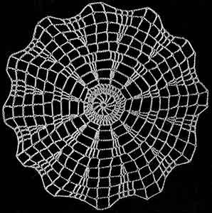 Mesh Doily Pattern