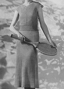 Wimbledon Dress Pattern #154