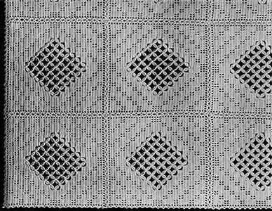 Crossbar Bedspread Pattern #616